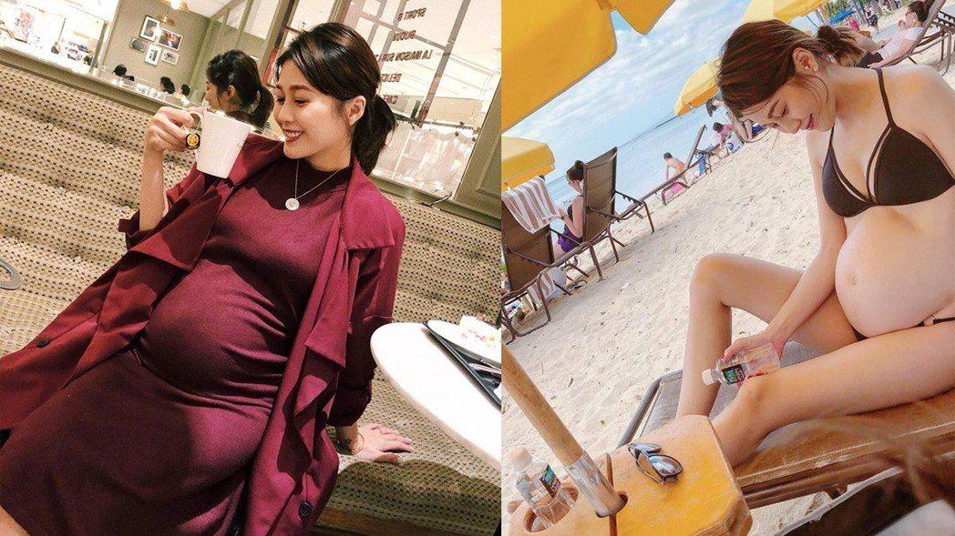 陳佩佩25日晚間在臉書上提到,日前產檢被醫師告知寶寶的心臟疑似有破洞。 圖/擷自