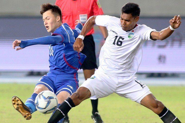 2017中華足協國際邀請賽。 圖/聯合報系資料照