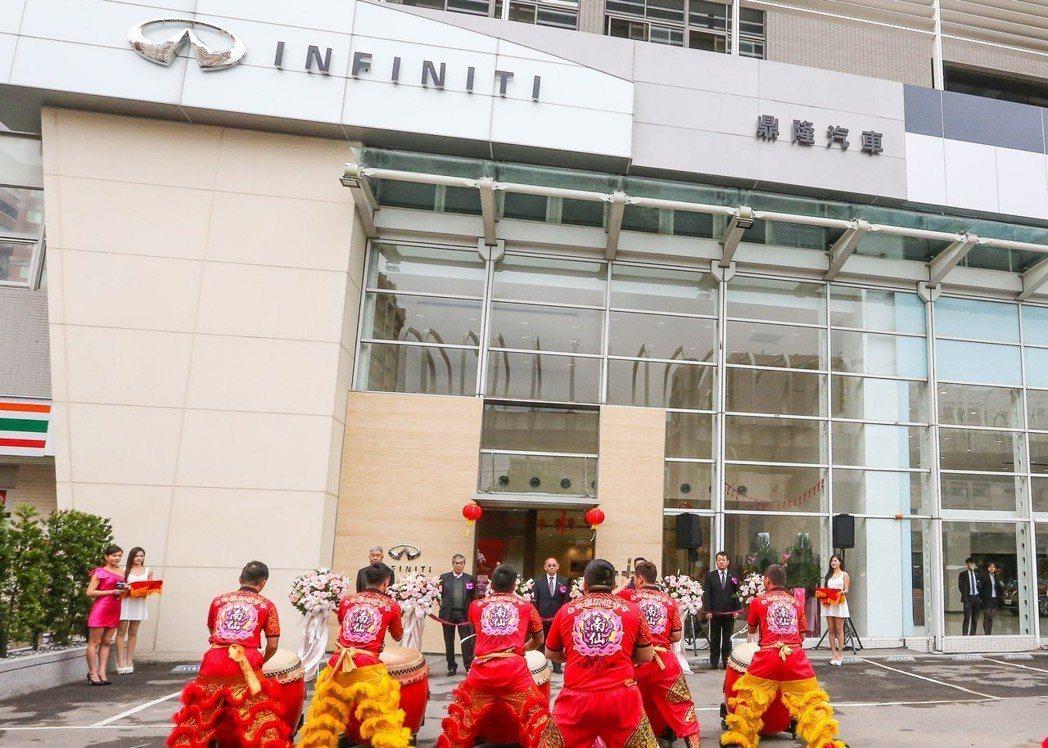 INFINITI 新莊 IREDI 旗艦展示中心,完美移植全球設計規範硬軟體規格...