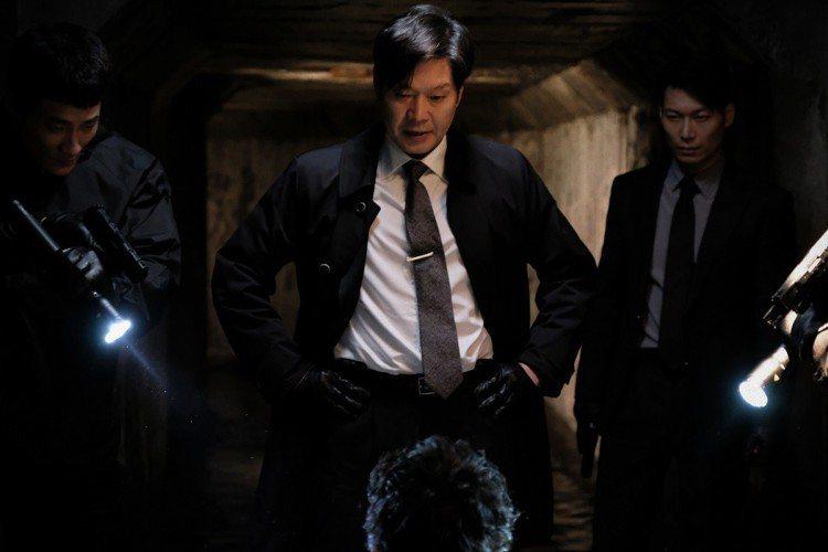 《宅配男逃亡曲》劉在明特別演出關鍵人物。圖/車庫娛樂提供