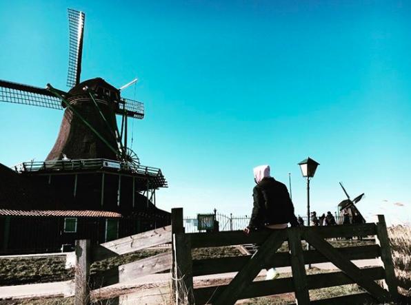 周杰倫和昆凌來到荷蘭。圖/摘自周杰倫IG
