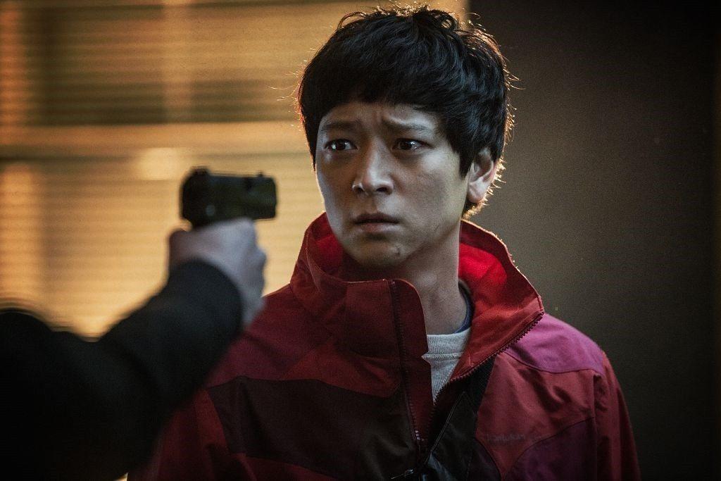 姜東元即將來台灣宣傳電影「宅配男逃亡曲」,並出席7日晚間的台北首映會。圖/車庫提
