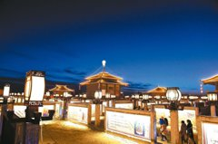 好美!流傳千年的文化遺產「九曲黃河燈陣」點燈