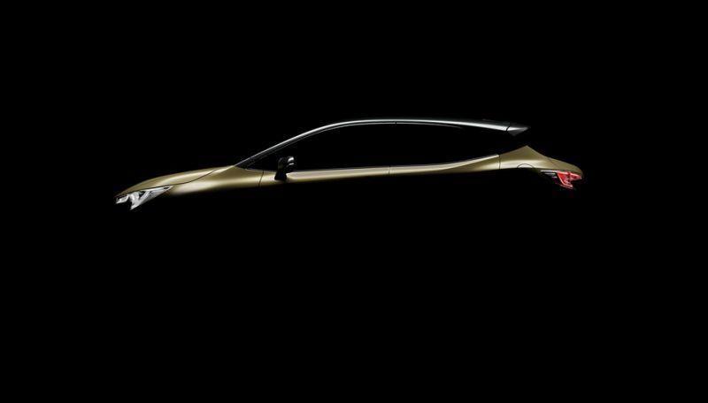 Toyota公佈新Auris預告圖。 摘自Toyota