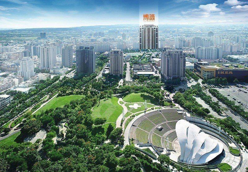 興富發七期新案「博識」,為文心森林公園稀有2-4房輕豪宅,現正推出自備88萬起輕...