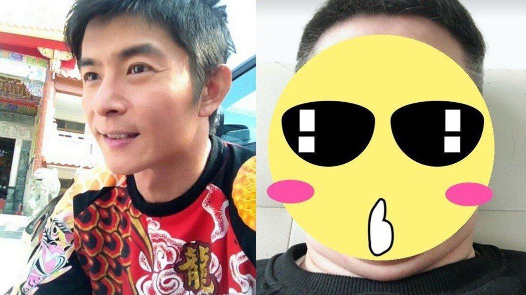 本土一哥陳建隆爆肥16公斤,如今長這樣。 圖/擷自微博、臉書。