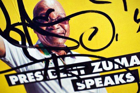 爭吵多年,南非總統祖瑪終於在2月14日請辭下台。 圖/美聯社