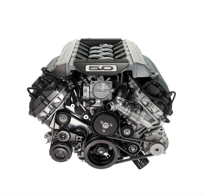 Ford Mustang GT Premium搭載V8自然進氣引擎。 圖/For...