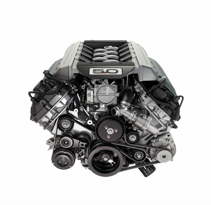 Ford Mustang GT Premium搭載V8自然進氣引擎。 圖/Ford提供
