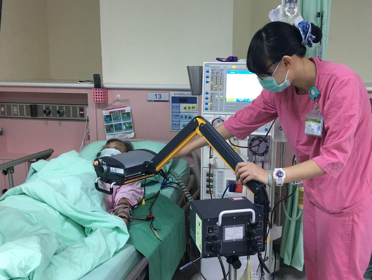 洗腎示意照。圖/烏日林新醫院提供
