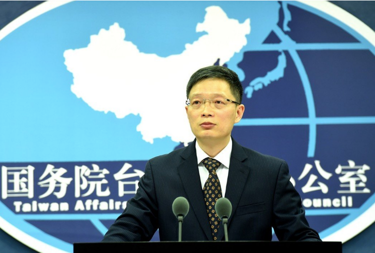 國台辦發言人安峰山。 中新社資料照片