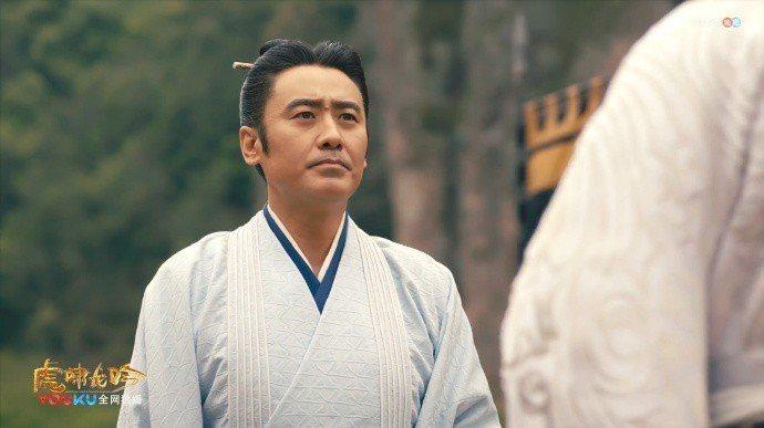 吳秀波演出「軍師聯盟」。圖/摘自微博