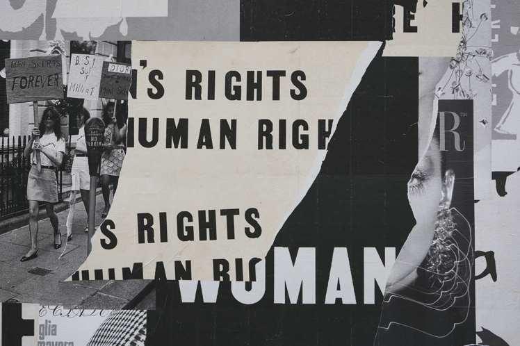 強調女性平權的概念直陳於場景中。圖/Dior提供