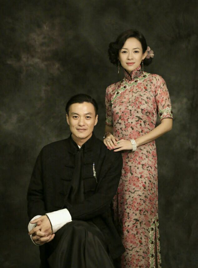 章子怡(右)和周一圍曾合作過「演員的誕生」。圖/摘自微博