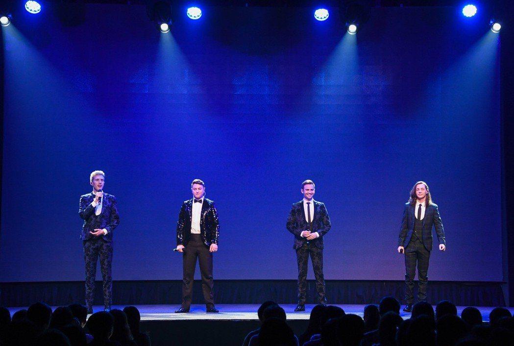 「美聲暖男」首度在台開唱。圖/Live Nation理想國提供