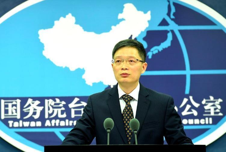 大陸推出31項惠台具體措施,圖為國台辦發言人安峰山。 (中新社資料照片)