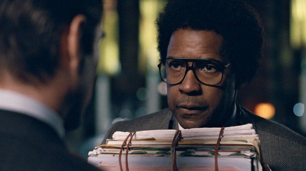 「羅曼律師」丹佐華盛頓被認為最沒得獎相。圖/捷傑電影提供
