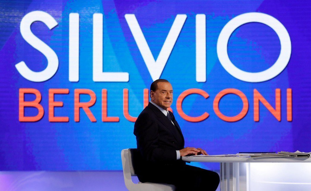 貝魯斯柯尼常利用自家的電視頻道宣傳自己。 路透