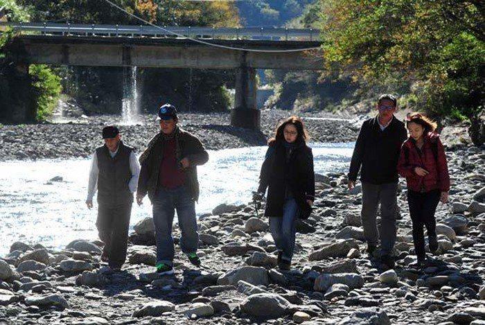 《天下》記者多次深訪石門水庫集水區,揭開水庫治理背後的祕密。 圖片來源:劉國泰攝