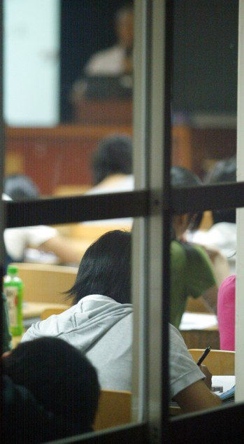 學生上課。聯合報系資料照