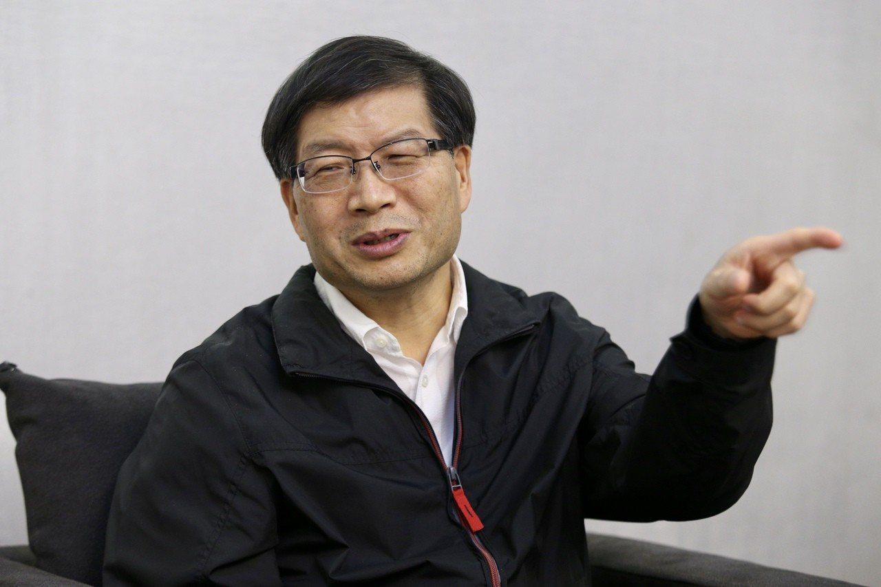 華碩執行長沈振來。記者林伯東/攝影 林伯東