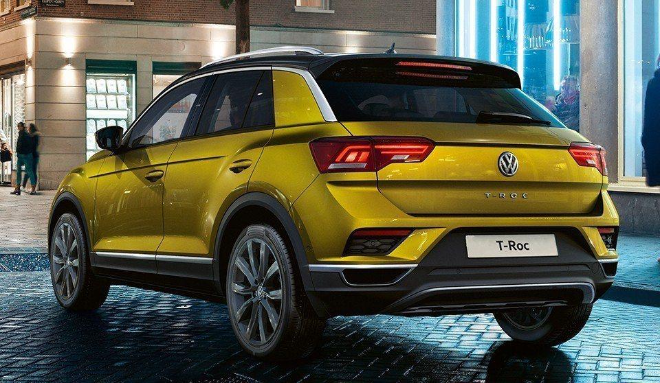 Volkswagen T-Roc是其車系中首款小型跨界休旅。 摘自Volkswa...