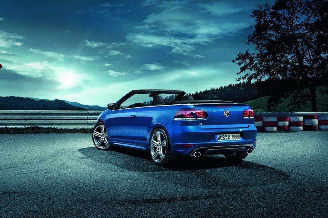 圖為Golf Cabriolet。 摘自Volkswagen