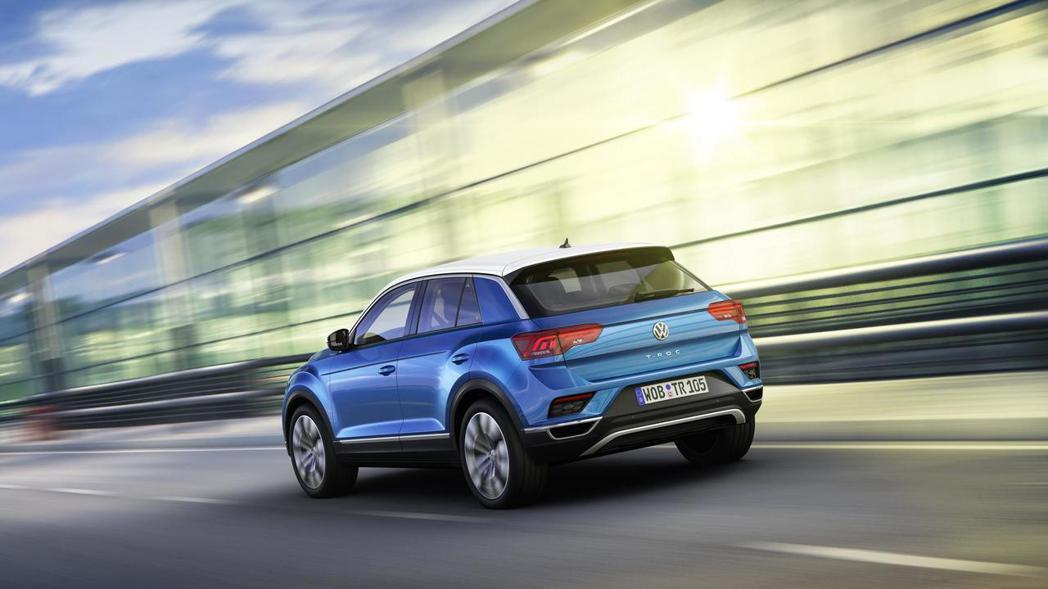 圖為Volkswagen T-Roc。 摘自Volkswagen