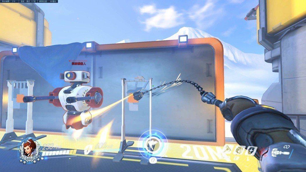 「碧姬」左鍵:火箭連枷