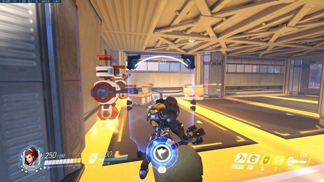 「碧姬」右鍵:屏障防盾