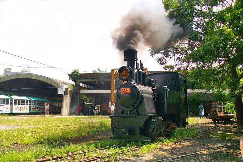 SL650 蒸汽火車。 圖/聯合報系資料照