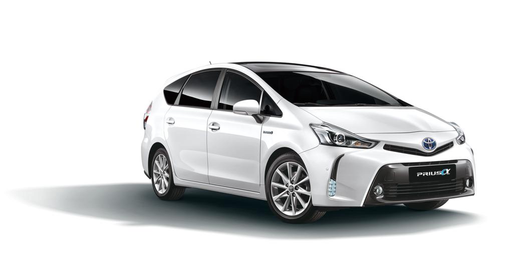 TOYOTA Prius α新年式進行升級。 圖/和泰汽車提供