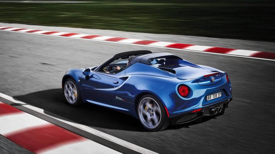 4C Italia Spider。 摘自Alfa Romeo