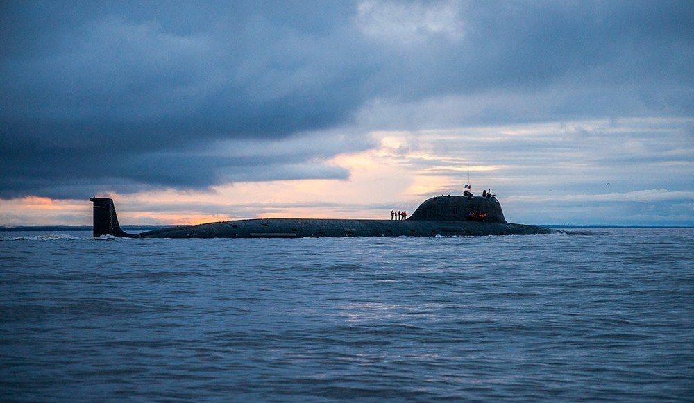 2015年亞森級核潛艦尤里多爾戈魯基號,在北冰洋潛伏了兩個月,創下有史以來最久紀...