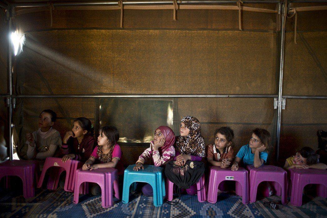 難民,是約旦的搖錢樹嗎? 圖/美聯社