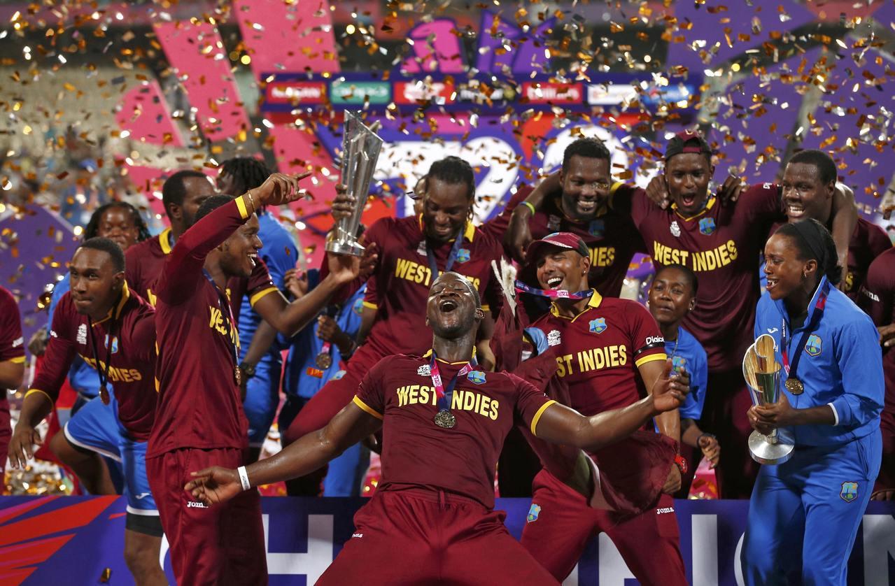 兩年一度的ICC世界T20賽制板球大賽,上屆總決賽由西印度群島隊擊敗英國隊,獲得...