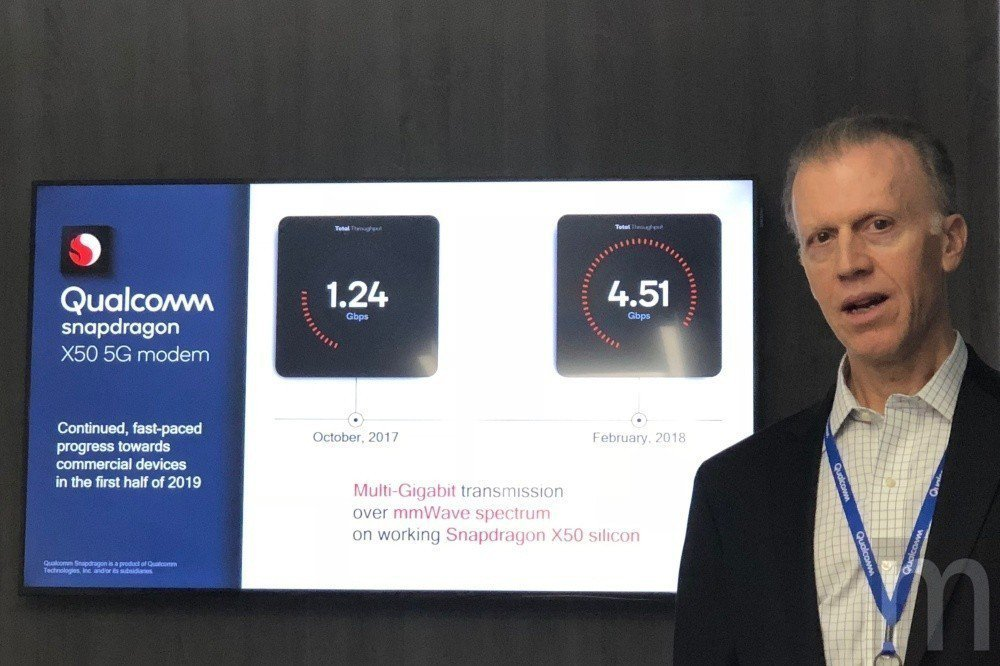 Qualcomm市場營運銷售資深總監Peter Carson