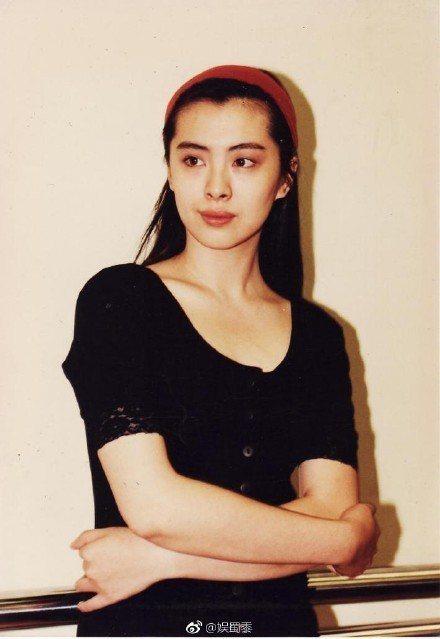 80年代的王祖賢。圖/摘自微博