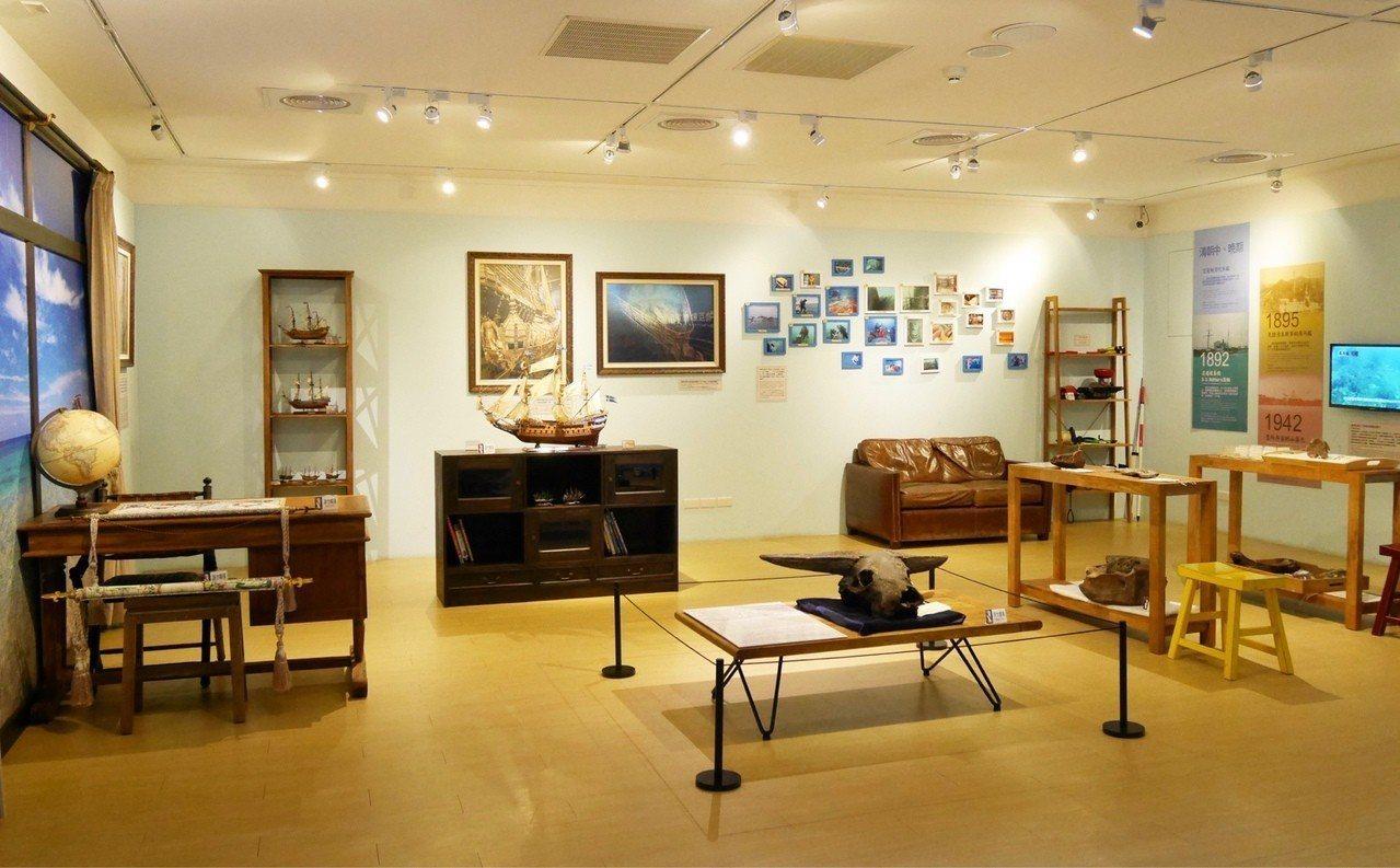 105年推出 「水下考古展」 常設展獲得好評。圖/十三行博物館提供