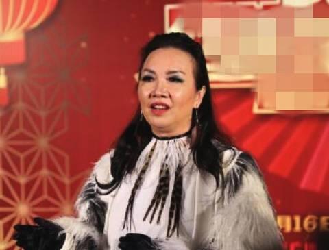 大陸知名娛樂部落客昨天曝光一組歌手蘇芮近照。圖/摘自微博