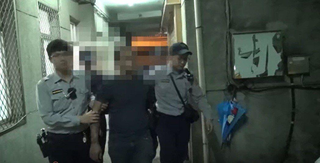 警方將謝姓男子等移送地檢署偵辦。記者翁禎霞/翻攝