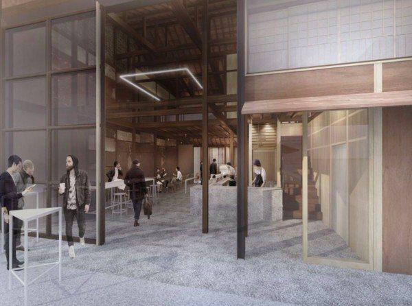 擁有百年歷史的京町屋將改造成時尚店面。圖/翻攝自品牌IG