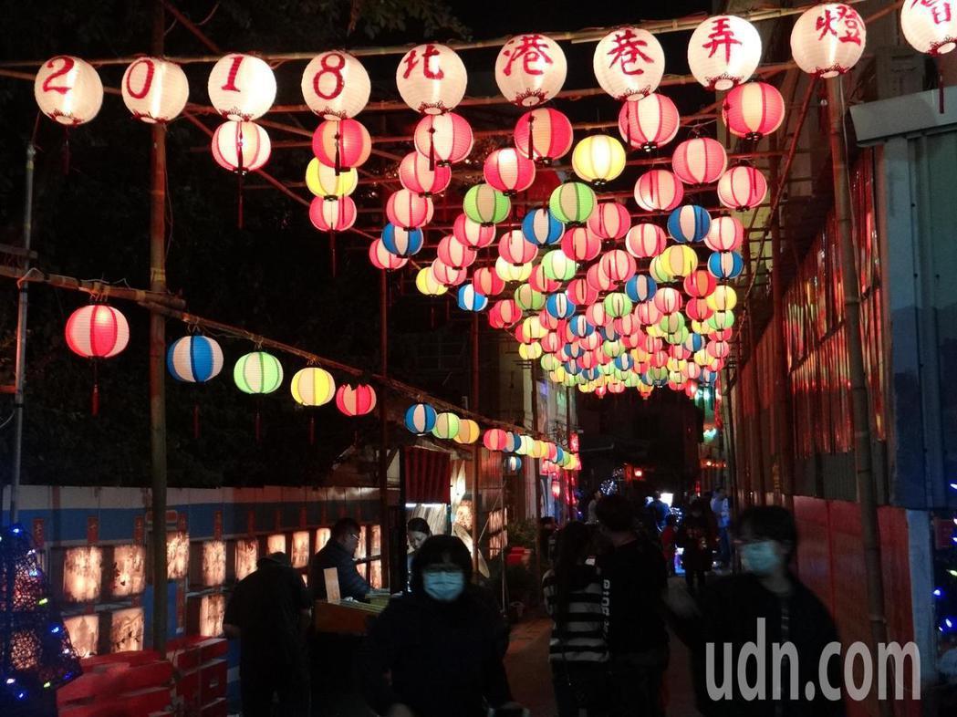 北港巷弄燈區最具特色,穿梭古巷彩燈高掛,更有濃濃的古早元宵味,最受遊客歡迎一開燈...