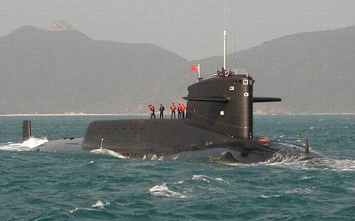 傳說中的中共解放軍海軍第四代核潛艇。(取自網路)