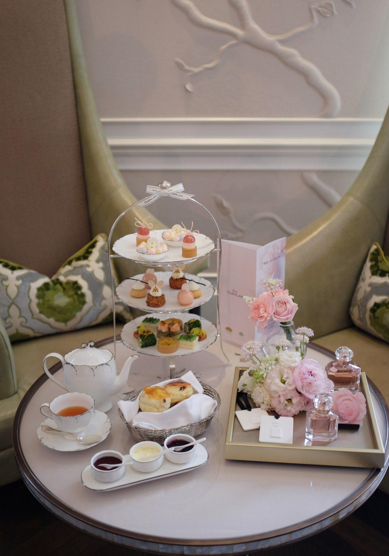 我的香氛印記下午茶饗宴,每位售價1,350元至3,850元。記者沈佩臻/攝影