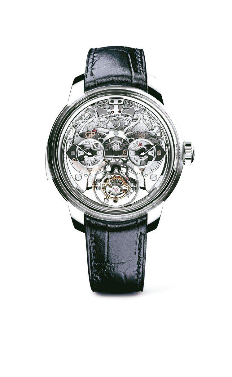 芝柏三軸陀飛輪三問報時腕表,48毫米鈦金屬表殼、手上鍊機芯,1,276萬4,00...