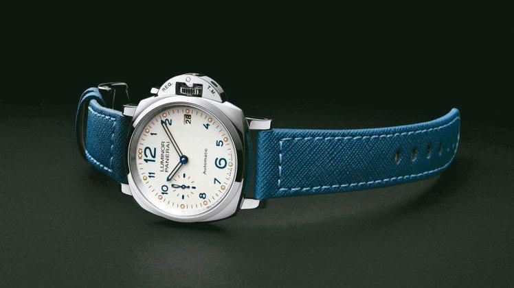 沛納海Luminor Due 3日動力儲存自動精鋼腕表,19萬8,000元。 圖...