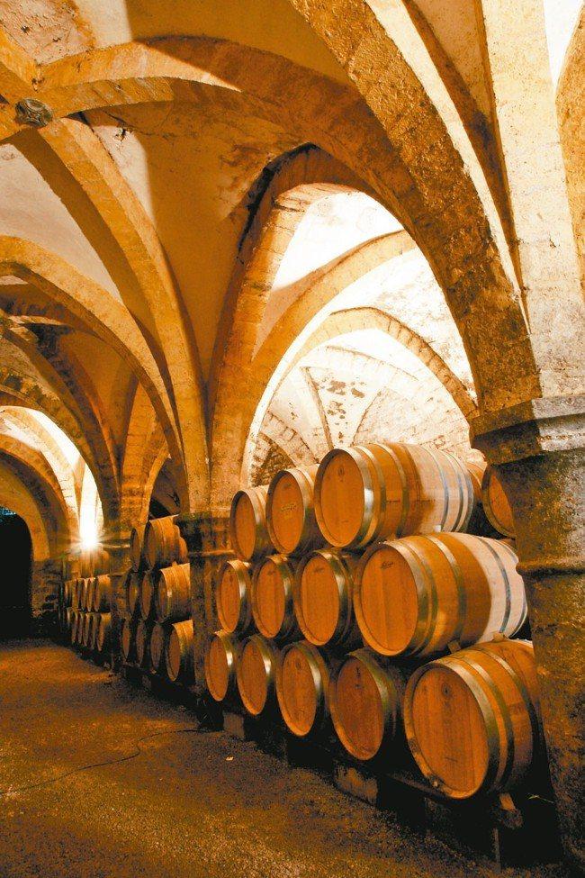 林裕森探訪葡萄酒秘境。 圖/林裕森提供