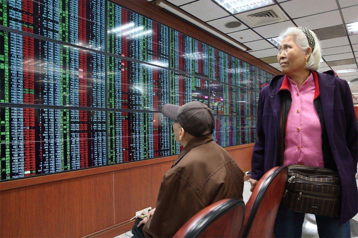 受美股及評價面影響,台股出現較大震盪,上周周線收黑。 聯合報系資料照