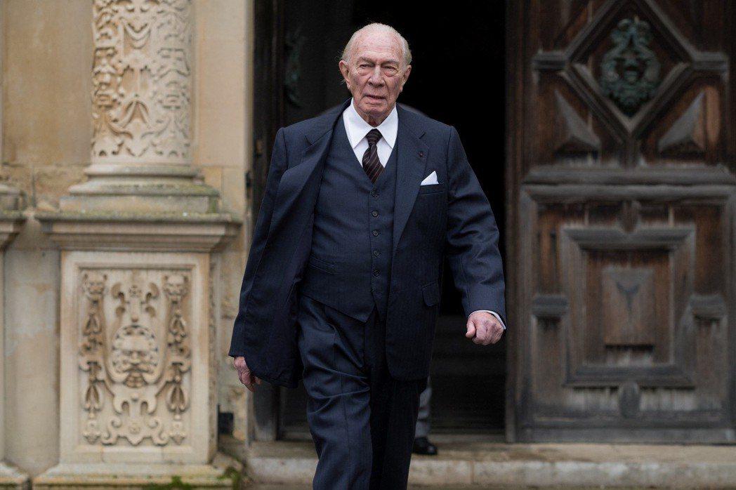 88歲男星克里斯多夫普拉瑪演出「金錢世界」入圍者奧斯卡最佳男主角。圖/Catch